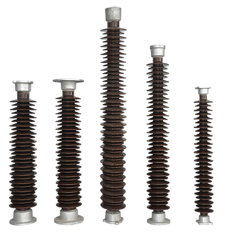 11kV-1100kV station porcelain post insulator conforming to standards of IEC and ANSI. Featured Image
