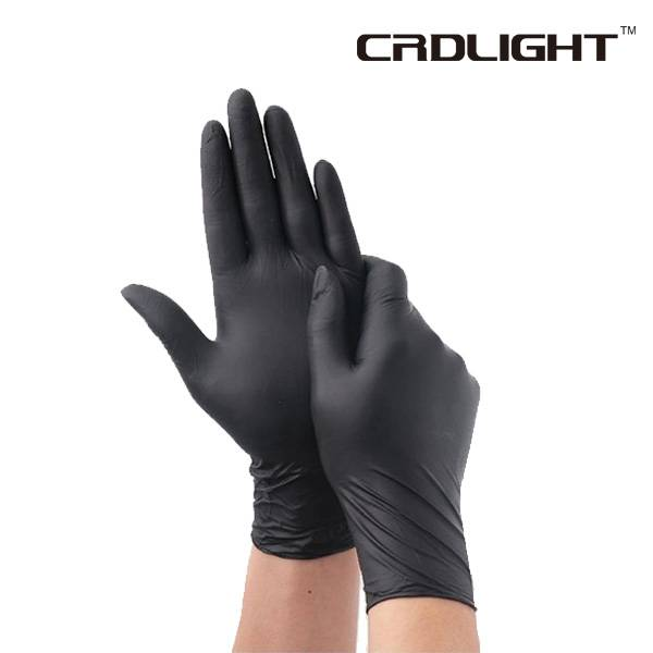 Disposable Vinyl/Nitrile Blended Examination Gloves