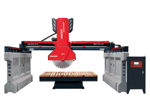 Middle block bridge cutting machine