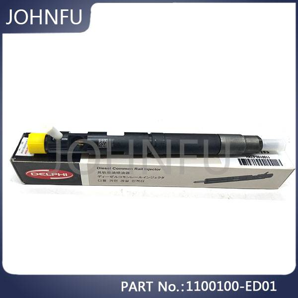 Orginal 1100100-Ed01 Wingle5 Hover H5 Great Wall Spare Parts 4d20 Engine Denso Fuel Injector