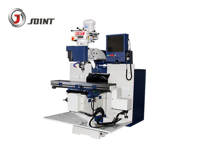 1500 * 1700 * 2150mm Vertical Knee Milling Machine High Spindle Rotation Speed