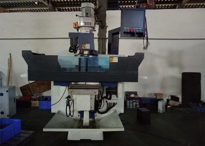 1800kgs Weight CNC Vertical Drilling Machine 6KJ – B With Controller System