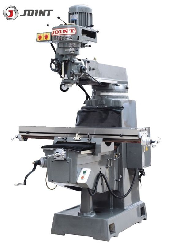 R8 3HP RAM Vertical Turret Milling Machine Metal Milling Boring Machine 4PM