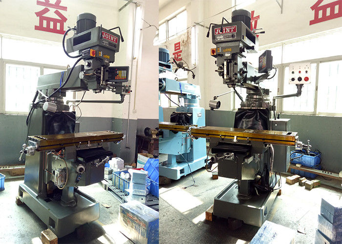 60 – 3000rpm Rotation Speed Turret Milling Machine NT40 Spindle Turret Milling