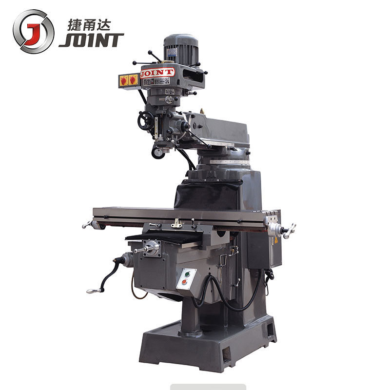 3HP Spindle Power Motor Turret Vertical Milling Machine For Electronic Parts