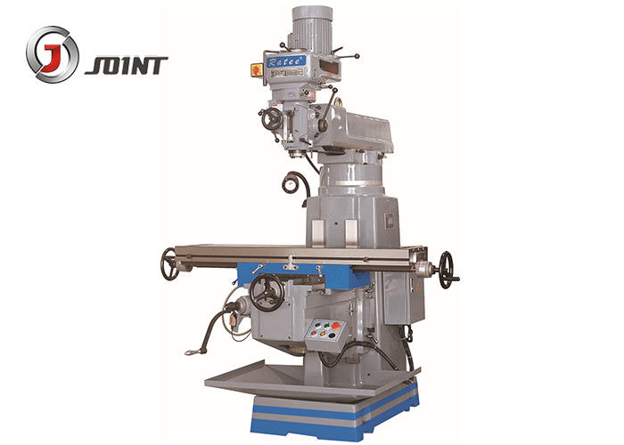 1370mm Table Turret Milling Machine , Automated Mold Processing Vertical Turret Mill