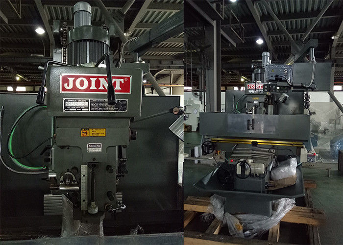Steel Industrial Bed Type Milling Machine 1370 * 405mm Table High Accuracy