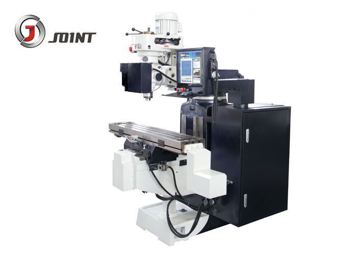 Intelligent Controller CNC Vertical Milling  Machine , Cast Iron Manual CNC Mill