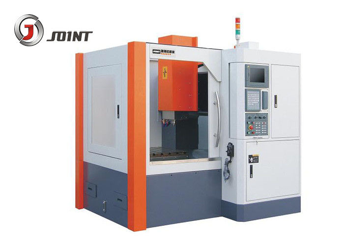 Metal Cutting CNC Engraving Milling Machine With Enclosed Cover Y Axis Screw