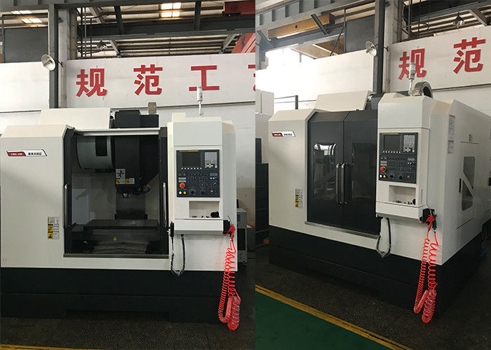 500kg Max Load Vertical CNC Machine , Short Nose Spindle CNC Machining Center