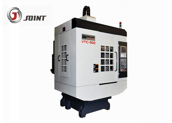 Precision CNC Drilling And Tapping Machine , Metal Processing CNC Turning Machine