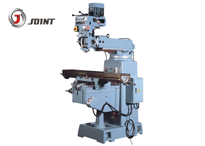 Medium Sized Veritical Turret Milling Machine For Mould Processing Strong Cutting