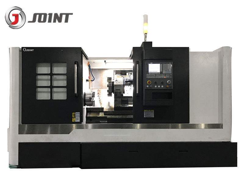 11KW Spindle Motor Slant Bed CNC Lathe Machine For Shaft Metal Cutting HTC58100