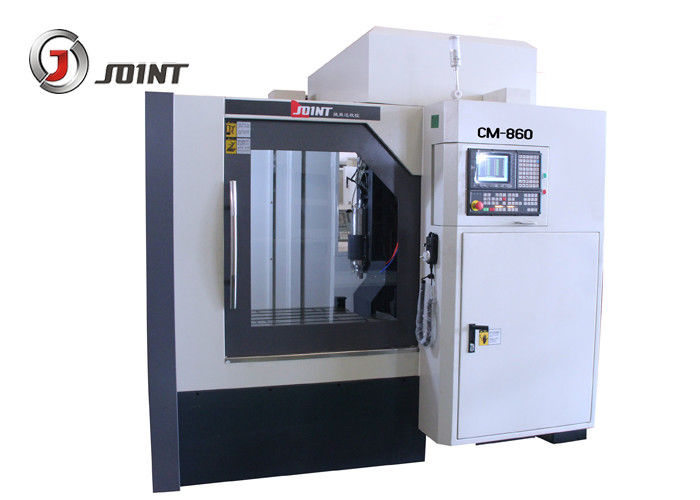 CNC Engraving Machine CM860 , three axis linear guide way 800 * 600mm Table 5.5KW/ER25/24000rpm spindle