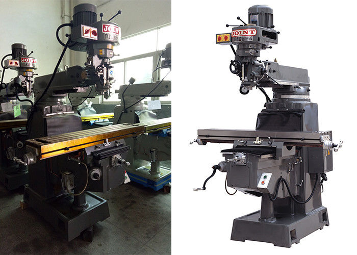 3HP Power Bench Top Milling Machine With 80 – 5440 / 16 Grades 60HZ Spindle Speed