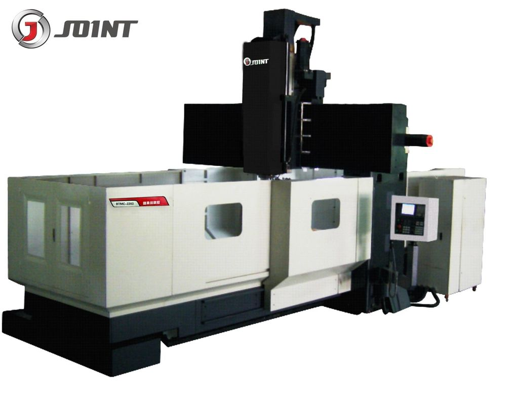 6000rpm large gantry milling machines , precision cnc machining equipment