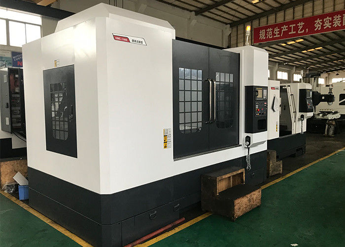 Fanuc 0i – MF System Vertical CNC Machine , 8000rpm CMC Milling Machine