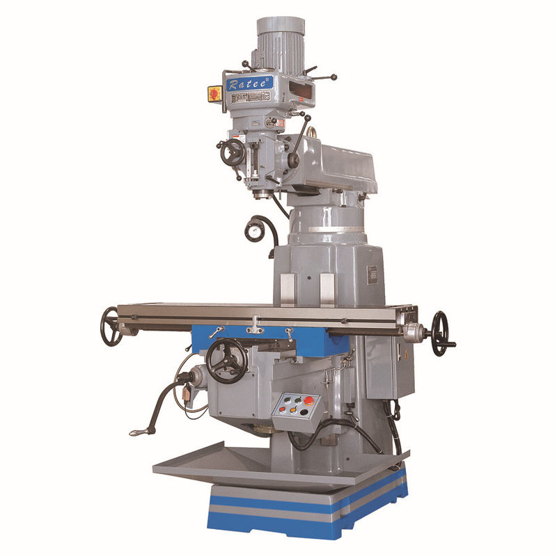 0.005 Spindle Tolerance Vertical Turret Milling Machine For Daily Necessities Mold Processing