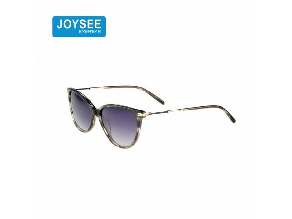 Joysee 2021 handmade acetate frame metal round leg fashion sunglasses high quality glasses