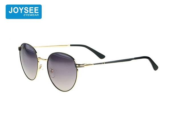 Joysee 2021 retro style fashionable round metal glasses high quality design exquisite Sunglasses