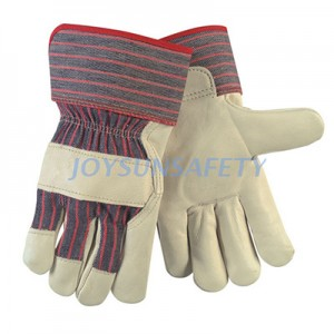 China Supplier Most Durable Leather Work Gloves - CA3680 cow grain leather palm gloves – Joysun