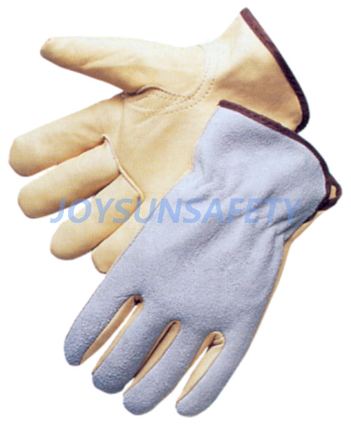 DCACBK rigger leather gloves