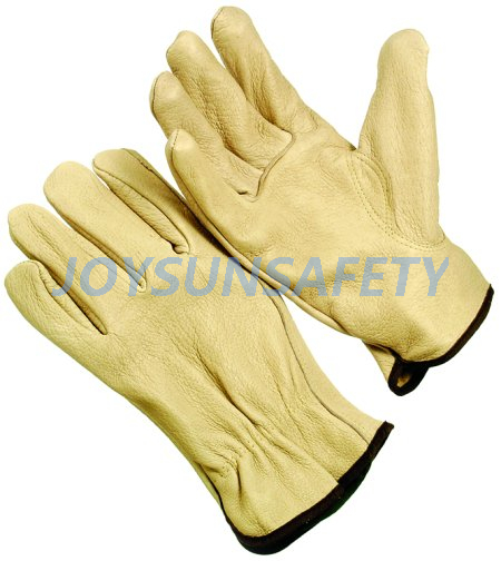 DPAK leather driving gloves