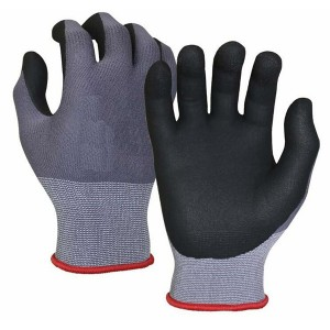 Ultra-Thin Nitrile Foam Grip Palm Coated Nylon Shell Work Glove