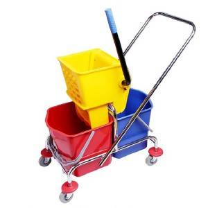 34L/46L Side press double wringer trolley –H0201 0202