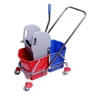 34L/46L Down press double wringer trolley-H0203/H0204