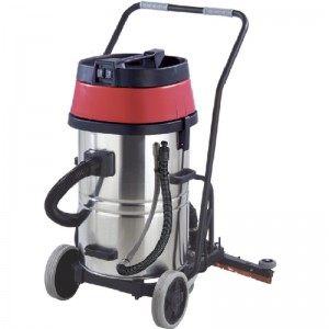 60L Stainless Steel Vacuum Cleaner with Squeegee AS60-2W/AS60-3W