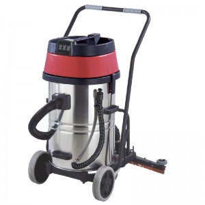 80L Wet and Dry Vacuum Cleaner with Squeegee