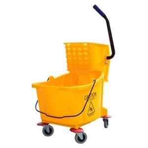 36L Side press single wringer trolley B-040