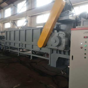 Large diameter pipe shredder
