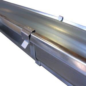 galvanized steel gutter