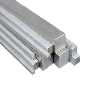 Stainless Square Solid Steel Bar