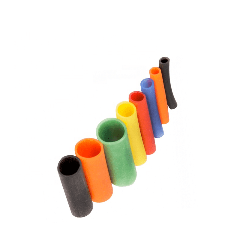 2020 chinese resistance elastic smooth silicone rubber foam tube for sales