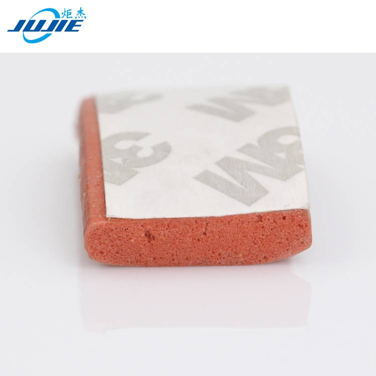 building water proof extrusion silicone rubber foam seal strip
