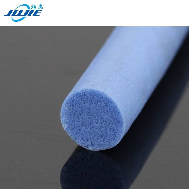 factory manufacture insulation open cell silicone foam tube