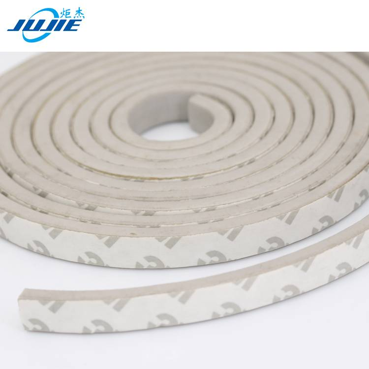 cabinet door edge protection silicone rubber sponge seal strip