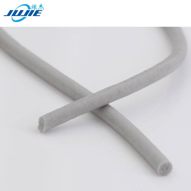 silicone rubber foam extrusion sealing strip