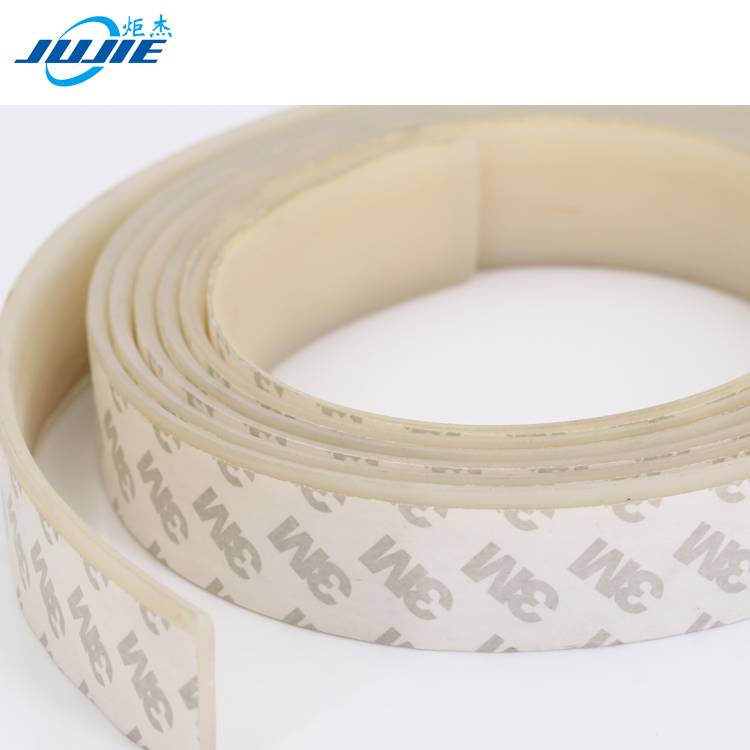 flat glass door window silicone rubber seal trim strip wooden door adhesive seal strip
