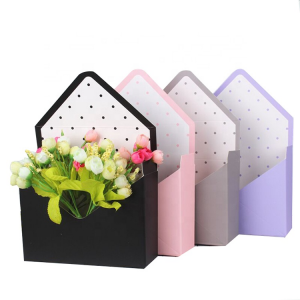 Custom luxury gift preserved flower box packaging with logo in china