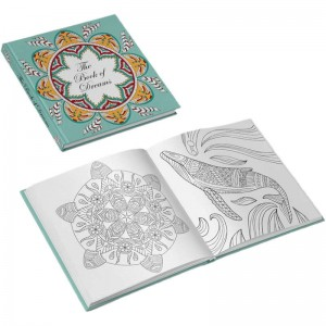 square coloring book printing service