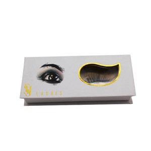 Eyelash Box With Eye-shaped Window