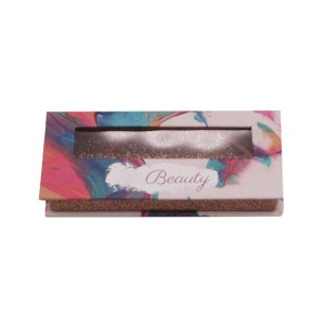 Beautiful Eyelash Box With Pvc Window