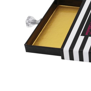 Rectangle Eyelash Box With Diamond Handle