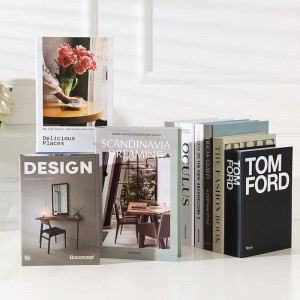 Decorative Books Set Stock
