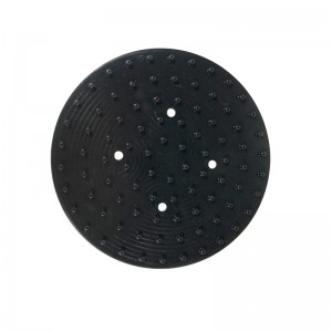 Black Round Shower Silicone Gasket