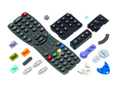 How Does a Silicone Keypad Work?